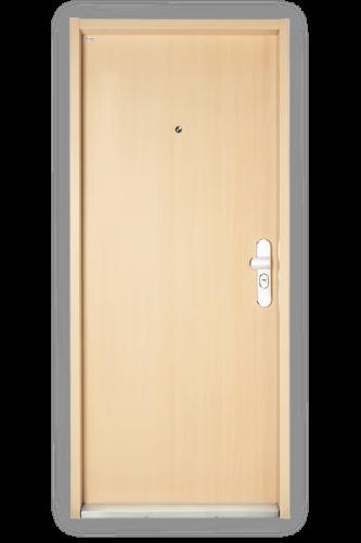 Bezpečnostné dvere Securido F3/A - hladké
