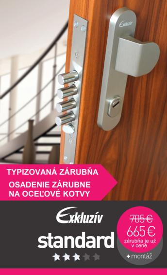 Bezpečnostné dvere exkluziv Standard